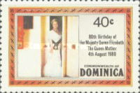 [The 80th Anniversary of the Birth of Queen Elizabeth the Queen Mother, Typ UL]
