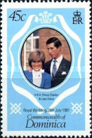 [Royal Wedding of Prince Charles and Lady Diana Spencer, type VI]