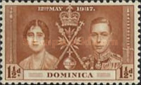 [Coronation of King George VI and Queen Elizabeth, Typ X]