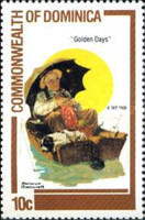 [Norman Rockwell (Painter) Commemoration, type XK]