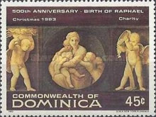[Christmas - The 500th Anniversary of the Birth of Raphael, 1483-1520, Typ ZV]
