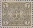 [Numeral Stamps - New  Color, type A10]