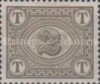 [Numeral Stamps - Watermarked, Typ A4]