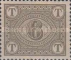 [Numeral Stamps - Watermarked, Typ A6]