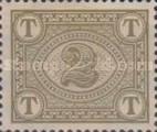 [Numeral Stamps - New  Color, type A8]