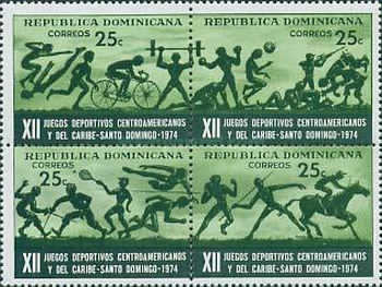 [The 12th Central American and Caribbean Games, Santo Domingo, type ]