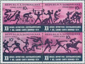 [Airmail - The 12th Central American and Caribbean Games, Santo Domingo, type ]