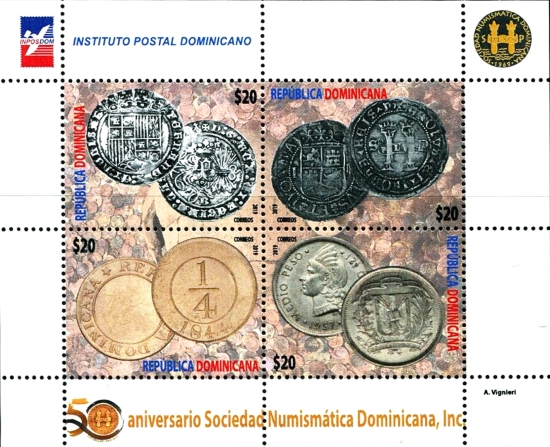 [The 50th Anniversary of the Dominican Republic Numismatic Society, Typ ]