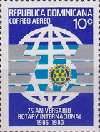 [Airmail - The 75th Anniversary of Rotary International, Typ ACG]