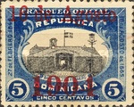 [Official Mail Stamps Overprinted