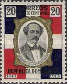 [The 100th Anniversary of the Birth of Juan Pablo Duartes y Diez, Typ AN5]