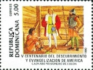 [The 500th Anniversary (1992) of Discovery of America by Columbus, Typ AOM]