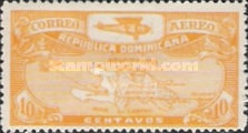 [Airmail - Airplane and Map, Typ BD]