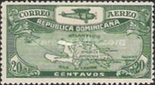 [Airmail - Airplane and Map, Typ BD2]