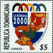 [The 12th National Youth Games, La Romana, type BDA]