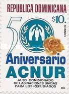 [The 50th Anniversary of United Nations High Commissioner for Refugees - Self-Adhesive, type BDY]
