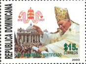 [The 25th Anniversary of Pontificate of Pope John Paul II, Typ BFK]