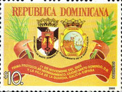 [Proclamation of Sister City Status of Santo Domingo and La Guardia, Spain, Typ BFX]