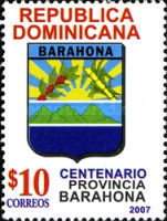 [The 100th Anniversary of the Province of Barahona, Typ BHH]