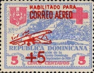 [Airmail - Charity Stamps of 1930 Overprinted