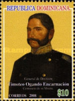 [The 100th Anniversary of the Death of General Timoteo Ogando Envcarnacion, Typ BIV]
