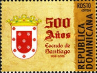 [The 500th Anniversary of Santiago Coat of Arms, Typ BIW]