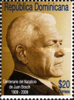 [The 100th Anniversary of the Birth of Juan Bosch, 1909-2001, type BJG]