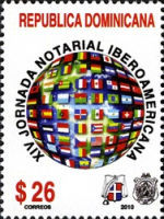 [The 15th Ibero-American Notary Day, Typ BKG]