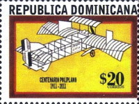 [The 100th Anniversary of Aviation in the Dominican Republic, type BLY]