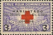 [Red Cross Stamps - Inscription