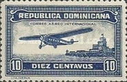 [Airmail - Airplane and Ozama Fortress, Typ BU]