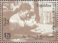 [Stamp Day - Gustavo More Gonzalez, 1925-2002, type BUI]