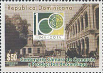 [The 100th Anniversary (2014) of Chamber of Commerce and Production of Santiago, type BWJ]