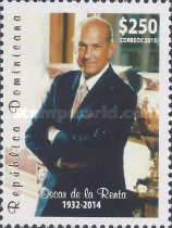[The 100th Anniversary (2014) of the Death of Oscar de la Renta, 1932-2014, type BWK]