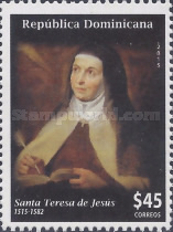 [The 500th Anniversary of the Birth of Santa Teresa de Jesús, 1515-1582, type BWL]