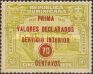 [Registered Mail Stamps - Issues of 1933 Overprinted, type CB4]