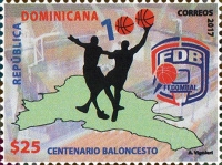 [The 100th Anniversary (2017) of Basketball in the Dominican Republic, Typ CCE]