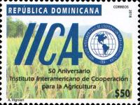 [The 50th Anniversary of the IICA - Inter-American Institute for Cooperation on Agriculture, Typ CCV]