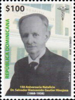[The 150th Anniversary of the Birth of Salvador B. Gautier, 1868-1938, Typ CEF]