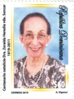 [The 100th Anniversary of the Birth of Zoraida Heredia, 1919-2011, Typ CGG]