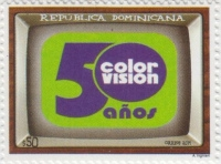 [The 50th Anniversary of Color Vision TV, type CHU]