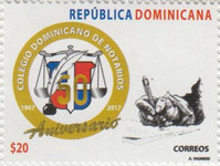 [The 50th Anniversary of Dominican College of Notaries, Typ CJX]