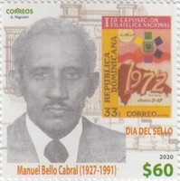 [Stamp Day - The 30th Anniversary of the Death of Manuel Bello Cabral, 1927-1991, type CKG]