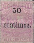 [Issues of 1880 Surcharged, type G3]