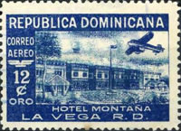 [Airmail - Various Hotels, type GJ]