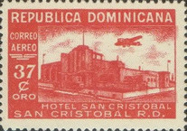 [Airmail - Various Hotels, type GK]