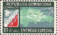 [Express Stamp - Map and Envelope, type GL]