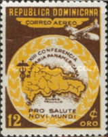 [Airmail - The 13th Pan-American Sanitary Congress, type GO]