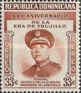 [Airmail - The 25th Year of Trujillo Era, Typ HH]