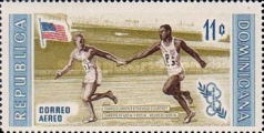 [Airmail - Olympic Games - Melbourne 1956 - Winning Athletes, Typ JV]